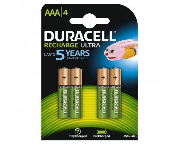 Duracell StayCharged AAA (4pcs) Batería recargable Níquel-metal hidruro (NiMH)