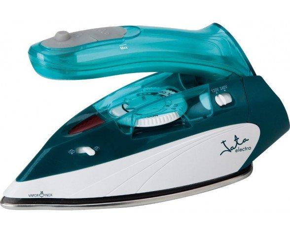 JATA PL280 plancha Plancha a vapor Suela de acero inoxidable 1000 W Azul, Blanco