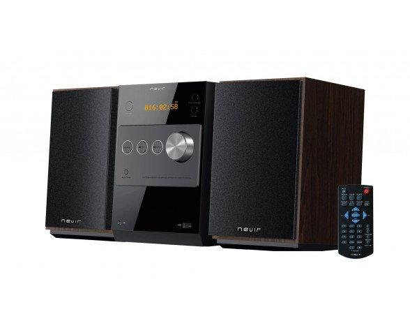 Nevir NVR-697BCDMU Micro set 10W Negro sistema de audio para el hogar
