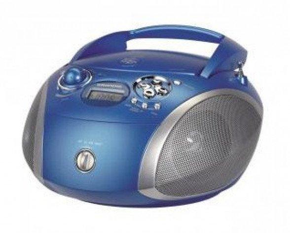 Grundig RCD 1445 USB Azul, Plata Radio CD
