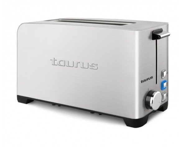 Taurus 960644000 1rebanada(s) 1050W Acero inoxidable tostadora