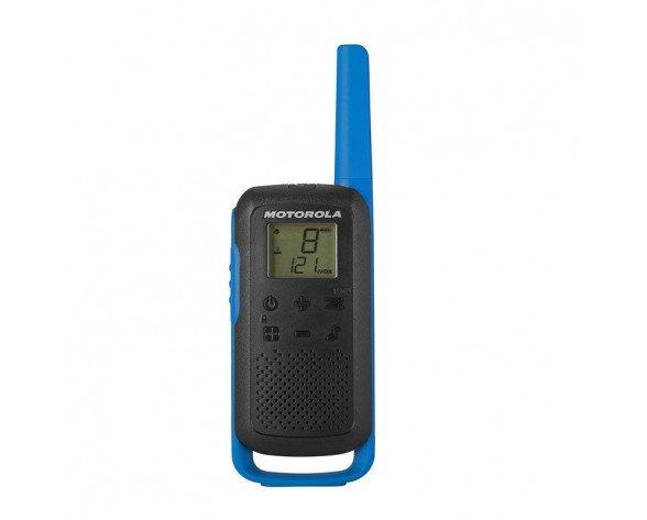 Motorola TALKABOUT T62 two-way radios 16 canales 12500 MHz Negro, Azul