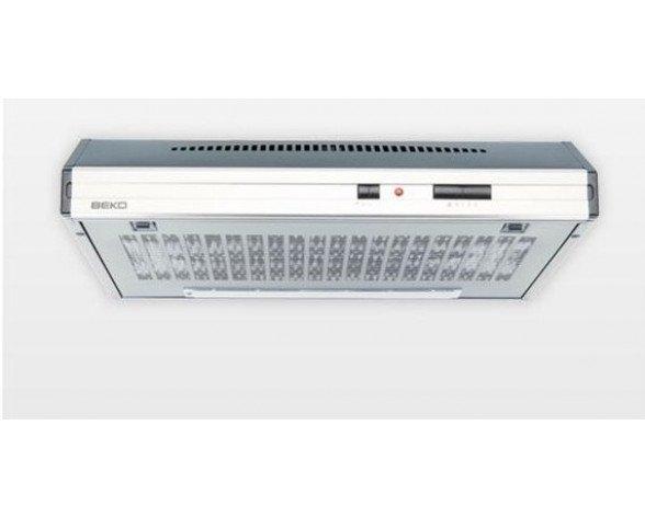 Beko CFB 6432 X Encastrada Acero inoxidable, Color blanco 300m³/h E campana