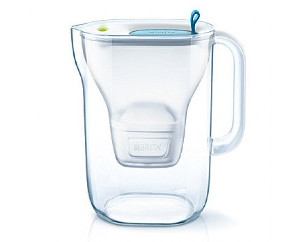 Brita Style Filtro de agua para jarra Azul, Transparente 2,4 L