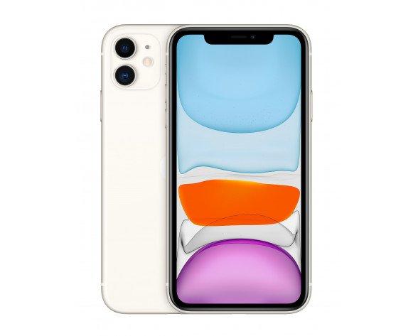 "Apple iPhone 11 15,5 cm (6.1"") 256 GB SIM doble Blanco"