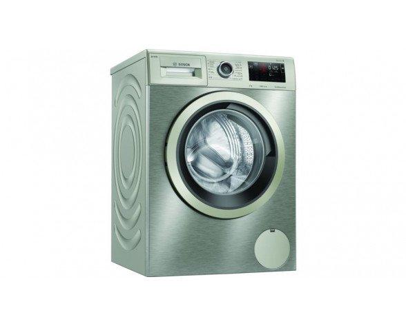 Bosch Serie 6 WAU28PHXES lavadora Independiente Carga frontal 9 kg 1400 RPM C Acero inoxidable
