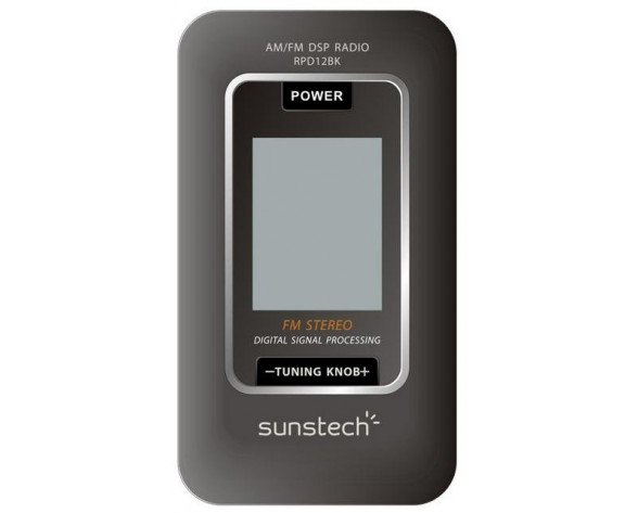 Sunstech RPD12 Portátil Digital Negro radio