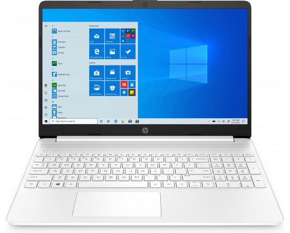 """HP 15s-eq1009ns Portátil 39,6 cm (15.6"""") HD AMD Ryzen 3 8 GB DDR4-SDRAM 512 GB SSD Wi-Fi 4 (802.11n) Windows 10 Home Blanco"""