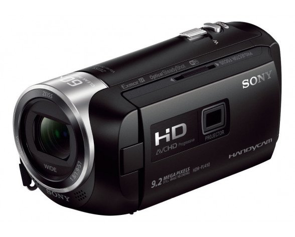 Sony HDRPJ410 2,29 MP CMOS Videocámara manual Negro Full HD