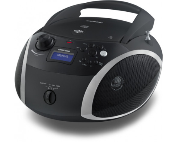 Grundig RCD 1500 BTB reproductor de CD Reproductor de CD portátil Negro, Gris
