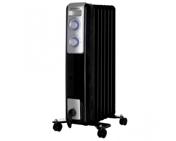 Orbegozo RN 1500 calefactor eléctrico Radiador de aceite eléctrico Interior Negro 1500 W