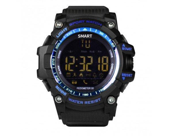 "Brigmton BWATCH-G1-A reloj inteligente Negro, Azul 2,84 cm (1.12"")"