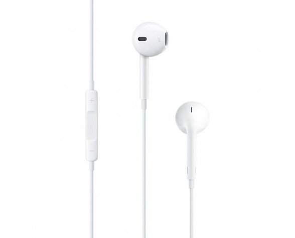 Apple EarPods Auriculares Dentro de oído Conector de 3,5 mm Blanco
