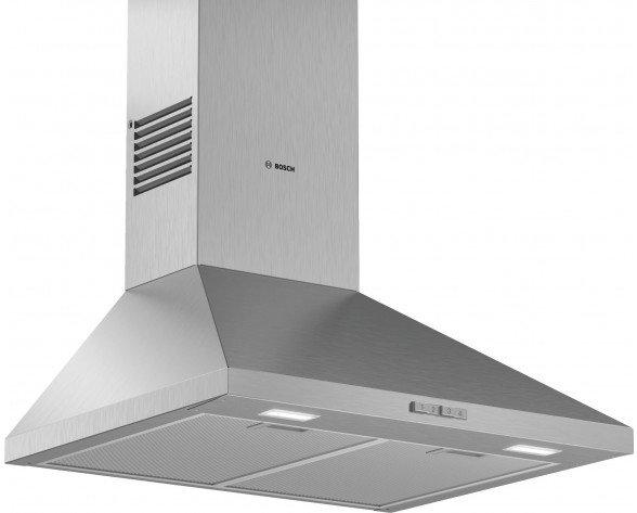 Bosch DWP66BC50 campana 570 m³/h De pared Acero inoxidable A