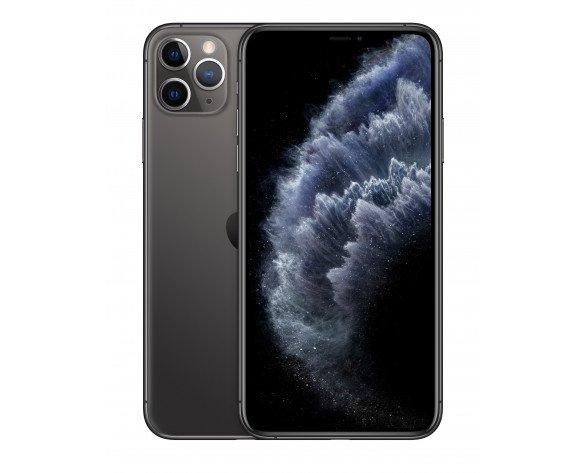 """Apple iPhone 11 Pro Max 16,5 cm (6.5"""") 64 GB SIM doble Gris"""