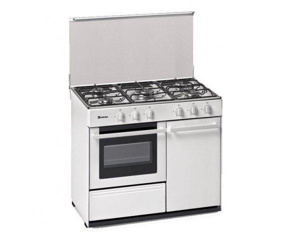 Meireles G 2950 DV Cocina independiente Blanco Encimera de gas