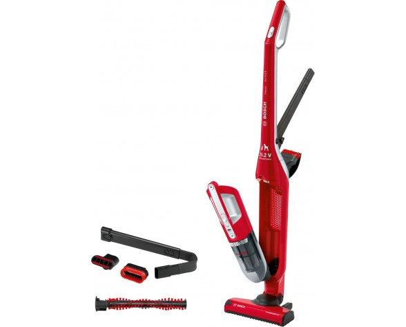Bosch Serie 4 BBH3ZOO25 aspiradora de pie y escoba eléctrica Sin bolsa Rojo 0,4 L