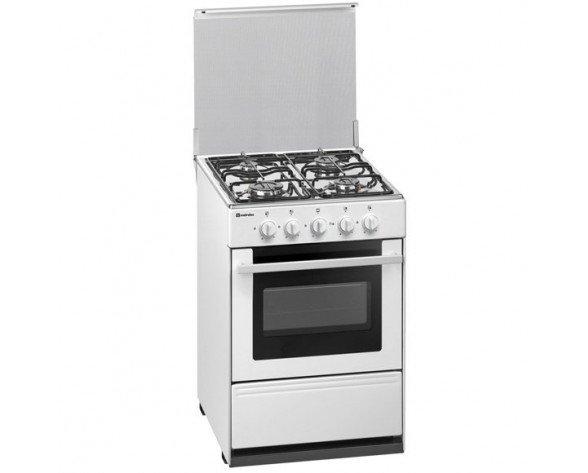 Meireles G 2540 V W NAT Cocina independiente Blanco Encimera de gas
