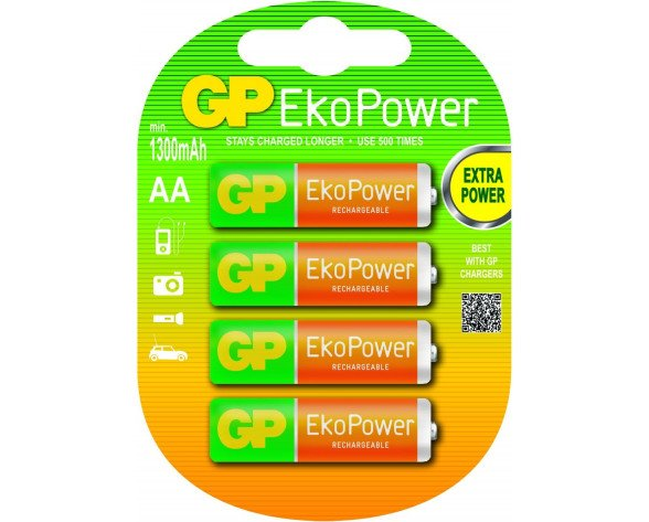 GP Batteries AA Rechargeable battery Níquel-metal hidruro (NiMH)