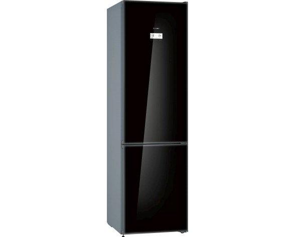 Bosch KGN39LBE5 nevera y congelador Independiente 368 L E Negro