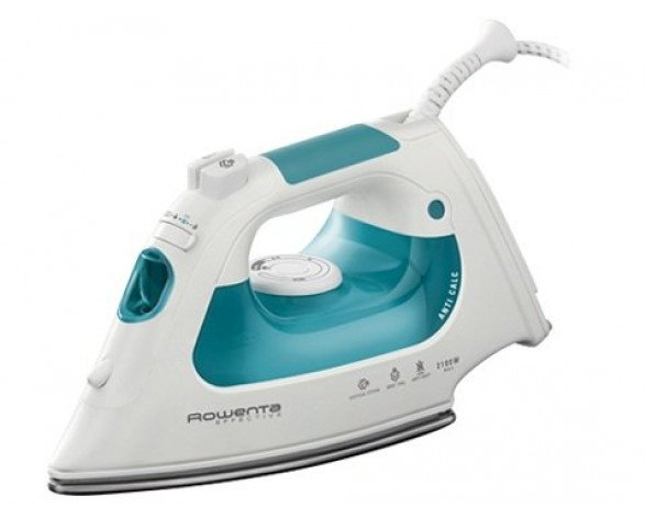 Rowenta DX1411 Dry & Steam iron 2100W Verde, Color blanco