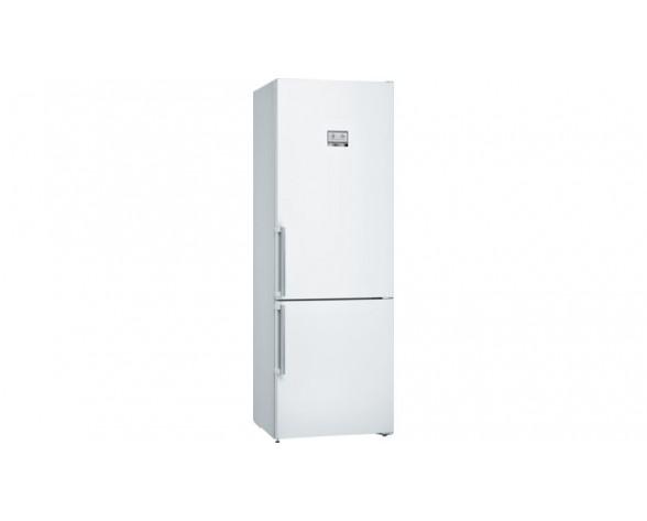 Bosch Serie 6 KGN49AWEP nevera y congelador Independiente 438 L E Blanco