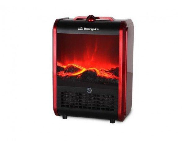 Orbegozo CM 9015 Calefactor eléctrico de cuarzo Rojo 1500 W