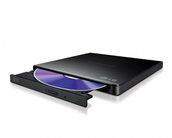 LG GP57EB40 unidad de disco óptico Negro DVD Super Multi DL