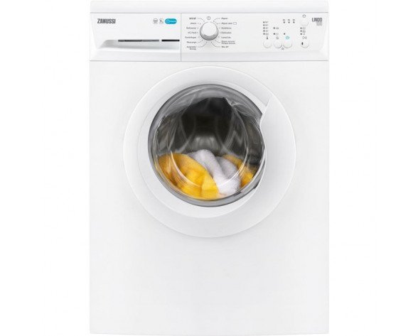 Zanussi ZWF71240W Independiente Carga frontal 7kg 1200RPM A+++ Color blanco lavadora