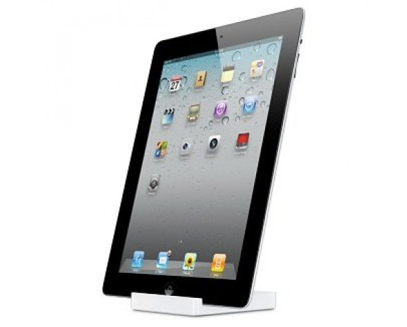 Apple iPad 2 Dock Color blanco base para portátil y replicador de puertos