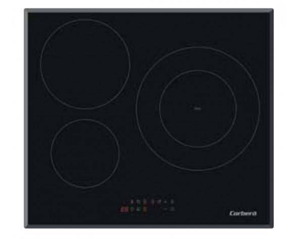 Corbero CCIM3FBS310 hobs Negro Integrado 59 cm Con placa de inducción 3 zona(s)