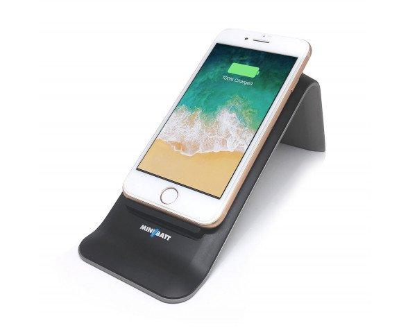 miniBatt MB-STUP cargador de dispositivo móvil Interior Negro