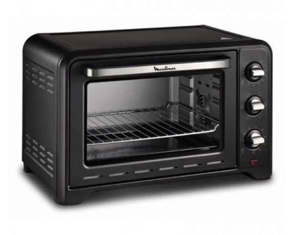 Moulinex OX484810 horno tostador 39 L Negro Parrilla