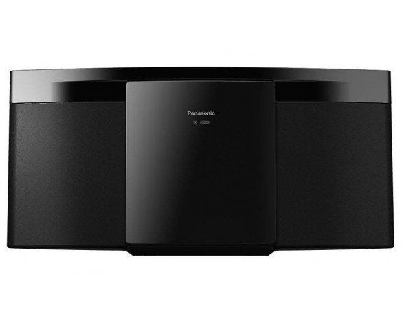 Panasonic SC-HC200 Microcadena de música para uso doméstico Negro 20 W