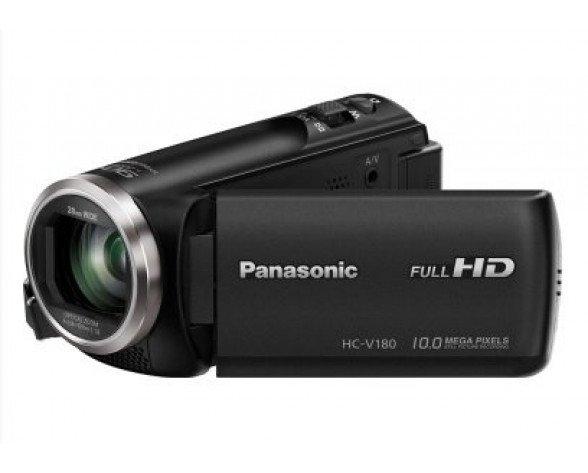 Panasonic HC-V180EC-K Videocámara manual 2.51MP MOS BSI Full HD Negro soporte de videocámara
