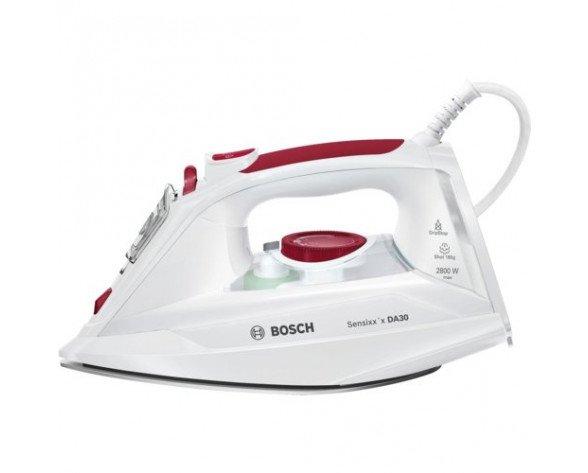 Bosch Sensixx'x DA30 Plancha vapor-seco Suela de CeramicGlide Blanco 2800 W