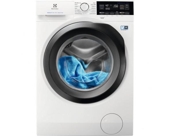 Electrolux EW7W3964LB lavadora-secadora Independiente Carga frontal Negro, Blanco E