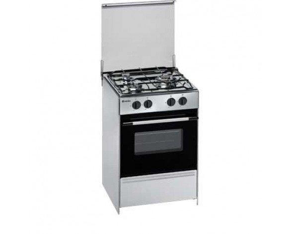 Meireles G1530DVXNAT cocina Cocina independiente Acero inoxidable Encimera de gas