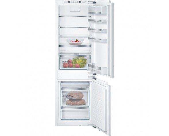 Bosch Serie 6 KIN86AF30F nevera y congelador Integrado Blanco 254 L A++