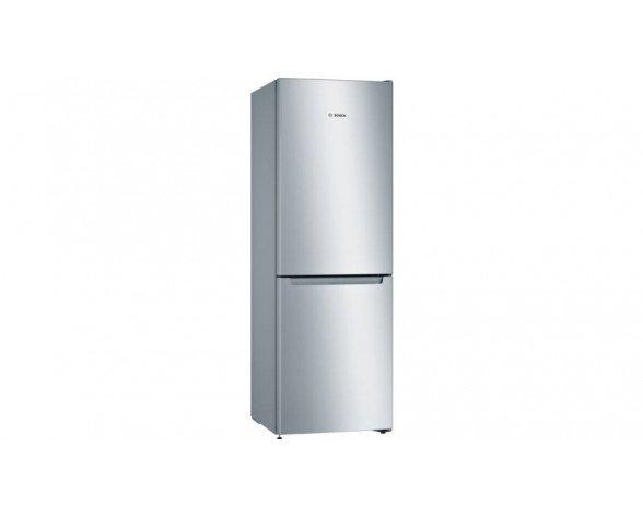 Bosch Serie 2 KGN33NLEA nevera y congelador Independiente Acero inoxidable 279 L A++