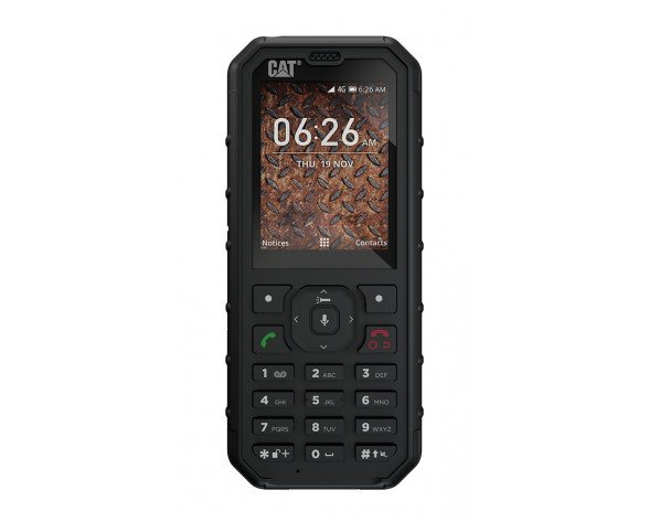 """Caterpillar B35 6,1 cm (2.4"""") 130 g Negro Característica del teléfono"""