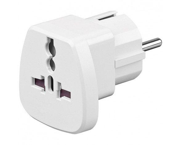 Goobay 94026 Blanco CEE7/7 cable de transmisión