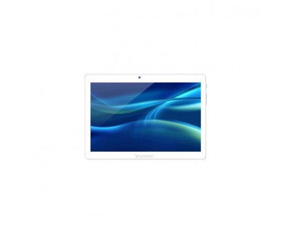 "Sunstech TAB1081 3G 32 GB 25,6 cm (10.1"") Mediatek 2 GB Wi-Fi 4 (802.11n) Android 8.1 Plata, Blanco"