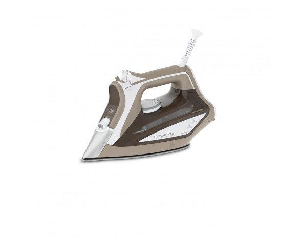 Rowenta Focus Excel Plancha vapor-seco Suela Microsteam 400 2700 W Bronceado, Blanco