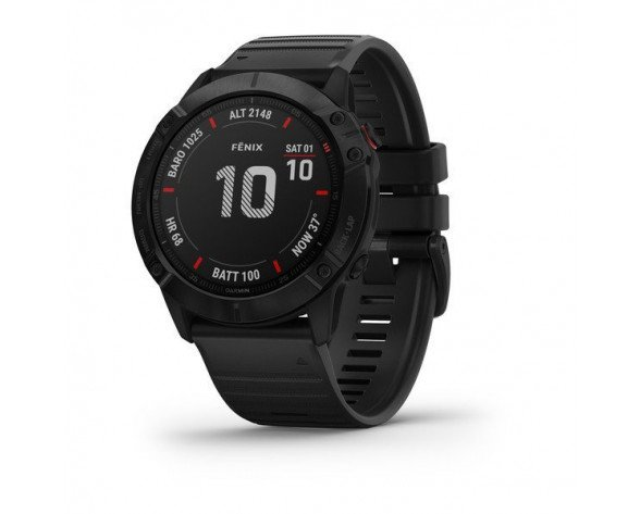 """Garmin fēnix 6X Pro reloj inteligente 3,56 cm (1.4"""") Negro GPS (satélite)"""