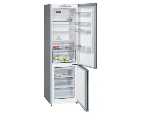 Siemens iQ300 KG39NVIDA nevera y congelador Independiente 368 L D Acero inoxidable
