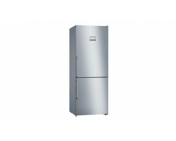 Bosch Serie 6 KGN46AI3P nevera y congelador Freestanding (placement) Acero inoxidable 385 L A++