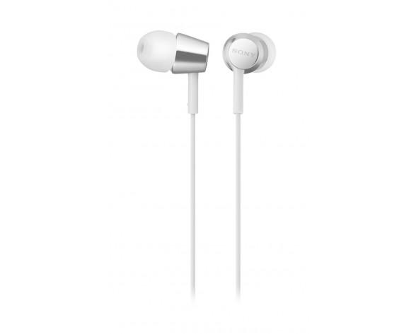 Sony MDR-EX155AP Auriculares Dentro de oído Conector de 3,5 mm Blanco