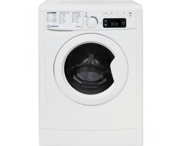 Indesit EWDE 751251 W SPT N lavadora-secadora Independiente Carga frontal Blanco F