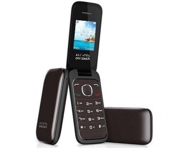 """Alcatel 1035 1.8"""" Gris Característica del teléfono"""